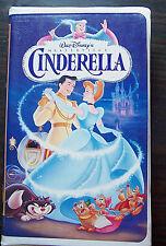 "Walt Disney Masterpiece Collection: ""Cinderella"" 1995 VHS princess tape video"