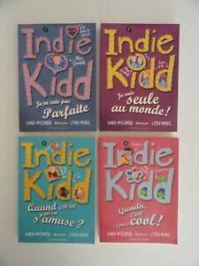 Lot de 4 livres Indie Kidd - Tomes 1 à 4 (dès 8 ans)