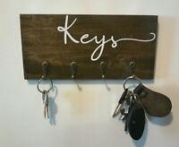 wall mounted key hanger 4 hook