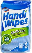 Handi Wipes, Dry Multi-Use Reusable Cloths, 72 Count