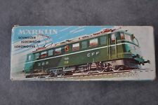 MARKLIN 3050 Locomotive Electric TRAIN HO SBB CFF FFS Switzerland Ae 6/6