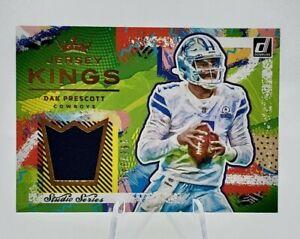 Dak Prescott 2021 Donruss Jersey Kings Patch Card SP 299/349 Cowboys Amazing!!