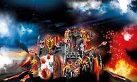 Playmobil 70221 Burnham Raiders Fortress Novelmore Knights Castle New Role Play