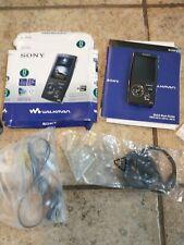 New Sony Walkman NWZ-A818 Black Digital Media Player MP3