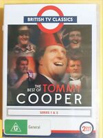 The Best Of Tommy Cooper : Series 1-2 [2 DVD Set] Region 4, BRAND NEW & SEALED
