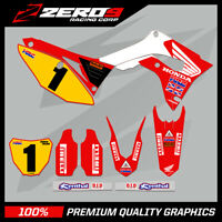 Custom MX Graphics Kit: HONDA CR CRF Motocross Graphics 125-450 / DT REPLICA