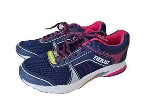 EVERLAST NWT Women's Tribeca Training Athletic Shoes Size 9 US Pink/Navy/White