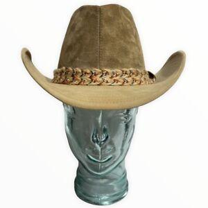 Vintage Resistol Self Conforming Cowboy Suede Hat Western Wear 7 1/8