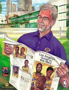 1999-2000 Los Angeles Lakers Yearbook - Phil Jackson, Kobe, Shaq, etc. Cover