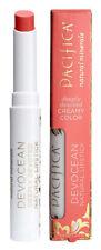 Pacifica Creamy Colour Devocean Mineral LIPSTICK Coral/Peach 2g REBEL SOL