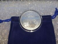 1 oz Silver Ends of the Earth Silverbug Island Round with Capsule & Velvet Pouch