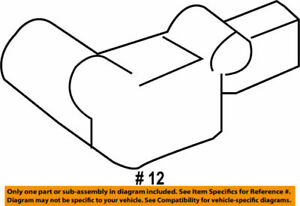 89178-06040 Toyota Sensor, seat position air bag 8917806040, New Genuine OEM Par