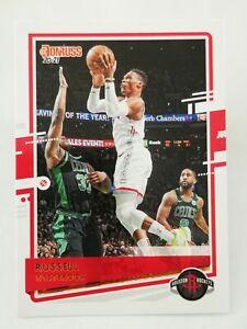 Panini Donruss 2020-21 N15 NBA trading card 64 Houston Rockets Russell Westbrook