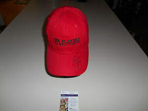 Rickie Fowler Hand Signed Players Championship Hat JSA #M67047 Cap PGA Autograph