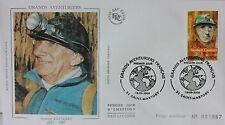 ENVELOPPE PREMIER JOUR - 9 x 16,5 cm - ANNEE 2000 - NORBERT CASTERET - N° 1867