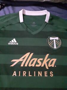 Adidas Portland Timbers Soccer Jersey - Size 2XL
