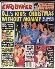 Vintage National Enquirer  Dec. 1994. O.J.   Pamela Anderson