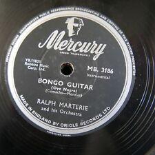 78rpm RALPH MARTERIE bongo guitar / kiss crazy baby MB 3186