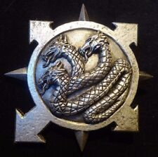 40k Chaos Alpha Legion badge pin