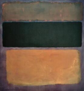 Mark Rothko No. Giclee Art Paper Print Paintings Poster Reproduction