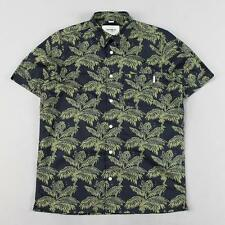 Crew Neck Beach, Palm Tree No Casual Shirts & Tops for Men