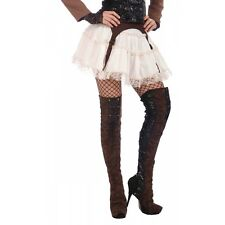 Steampunk Thigh High Boot Tops Costume Accessory Adult Halloween