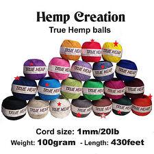 Bundle 19 Hemp Ball 20lb/1mm & 6 Big Natural Hemp Balls for ZsMom