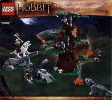 Lego The Hobbit ... # 79002 Attack of the Wargs - Bauanleitung (keine Steine!)