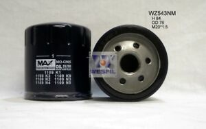 WESFIL OIL FILTER FOR Peugeot 2008 1.2L 2013 10/13-on WZ543NM