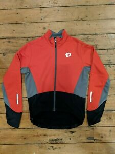 Pearl Izumi Elite Pursuit Softshell Men's Cycling Jacket, Red, Small