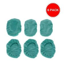 6 Pack Replacement Microfiber Refills fit Swiffer Sweeper Vac Wet Single Jet Mop