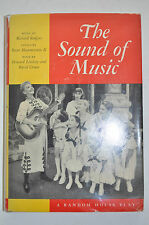 THE SOUND OF MUSIC BOOK BY HOWARD LINDSAY MUSIC BY RICHARD RODGERS*1ST ED 6TH PR