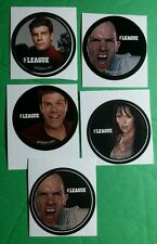 LOT OF 5 THE LEAGUE TV BULK LOT PACK GET GLUE STICKERS STICKER