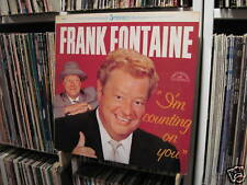 FRANK FONTAINE *I'M COUNTING ON YOU* 1965 STEREO LP * NEAR MINT