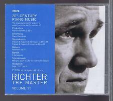 RICHTER 2  CDs (NEW) 20TH CENTURY PIANO MUSIC VOL 11