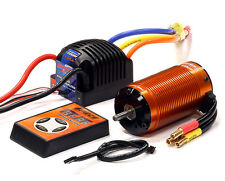 E2080 SPECS 4074 BL 2200Kv Sensored, 2S-4S ESC 135A for E-Maxx, E-Revo,1/8