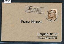 00325) Landpost Ra2 Lorzendorf über Kanth (Schlesien) DS 1938