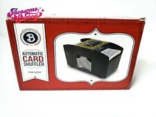 Casino Four Deck Automatic Card Shuffler by Brybelly New