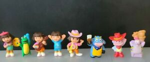 1 set Nickelodeon Dora The Explorer Figure 8 pcs Family and Friends USA Stock