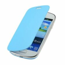 Étuis, housses et coques bleus en cuir pour téléphone mobile et assistant personnel (PDA) Samsung