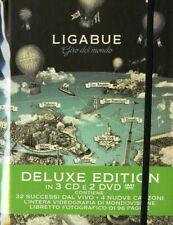 """Ligabue """" Giro del Mondo (Deluxe Edition 3CD + 2DVD) Edizione limitata"""