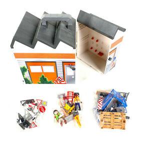 PLAYMOBIL 4043 Bauhof zum Mitnehmen - Neuwertig und vollständig
