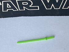 Star Wars Vintage 1983 LUKE JEDI GREEN LIGHTSABRE 100% ORIGINAL !!