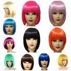 Trendy Women BOBO Cosplay Party Full Wigs Hair Full Bangs Short Straight Wig Hot