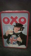 "OXO 48 CUBE ADVERTISING TIN ""BEEFING UP BRITAIN"" JOHN BULL SCENE"