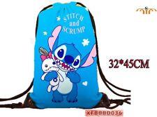 Mochila saco de tela Stitch Lilo y Stitch