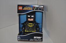 LEGO DC COMICS SUPER HEROES BATMAN ALARM CLOCK *NEW*