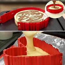 Nonstick 4Pcs Silicone Cake Mold Magic Bake Snake DIY Cake Mould Baking Tool JJ