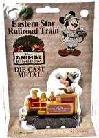NIB Disney Animal Kingdom Die-Cast Metal EASTERN STAR RAILROAD TRAIN c785