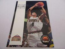 Carte NBA SKYBOX 1993-94 #218 Brian Williams Denver Nuggets
